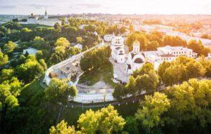 Богородице-Рождественский монастырь на месте древнего Кремля