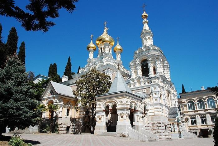 Собор Св. Александра Невского в Ялте