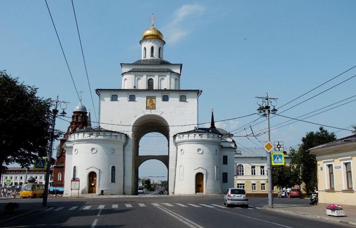Золотые ворота – символ Владимира