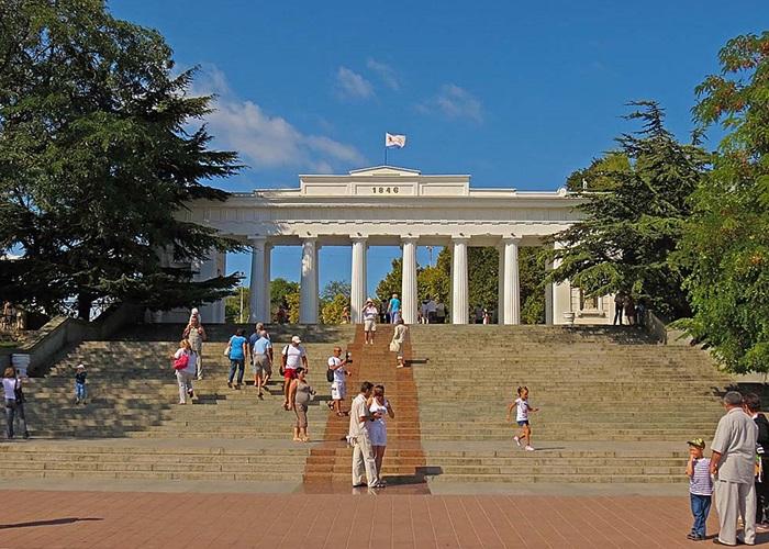 Графская пристань Севастополя