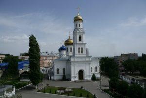 Кафедральный Духосошественский Собор в Саратове
