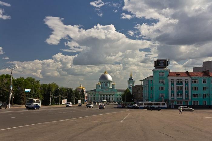 Красная площадь в Курске