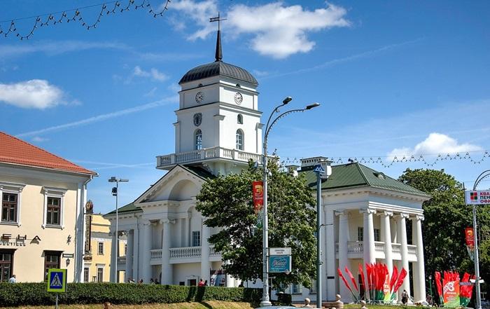 Минская городская ратуша. 1600 год постройки.