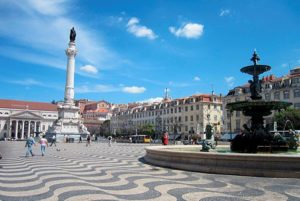 Площадь Россиу в Лиссабоне