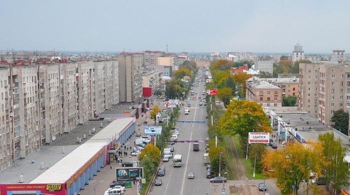 Проспект Чайковского в Твери