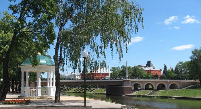 Александровский мост в Орле