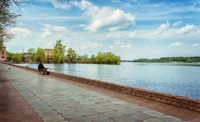 Городское водохранилище Гусь-Хрустального