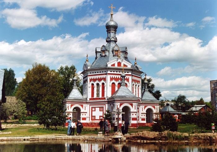 Храм-часовня святой великомученицы Варвары в г. Гусь-Хрустальныом