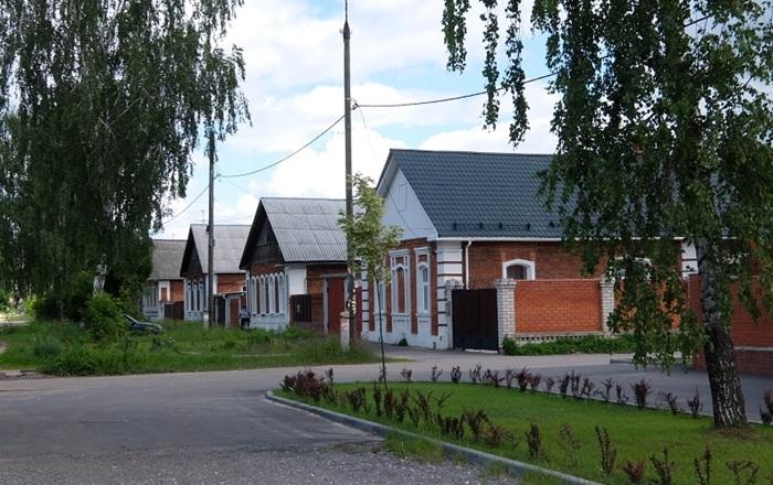 Мальцовские домики в Гусь-хрустальном
