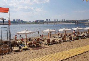 Пляжи Волги и Ахтубы