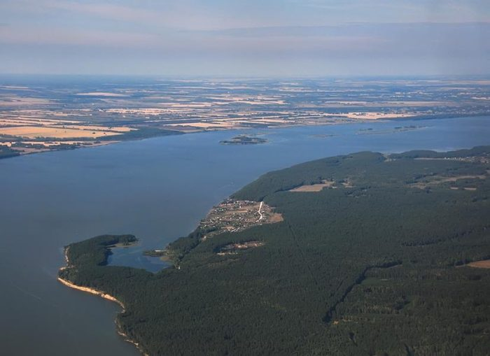 Река Обь и «Обское море»