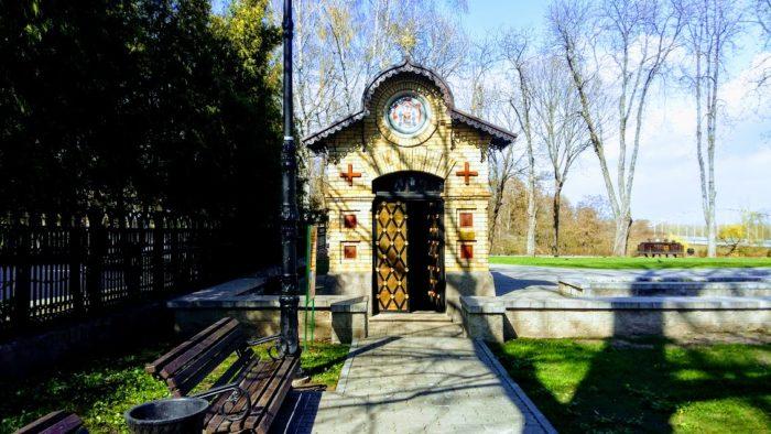 Часовня-усыпальница семьи Паскевичей