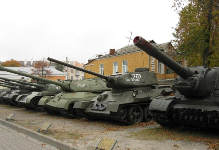 Двор музея Военной Славы Гомеля