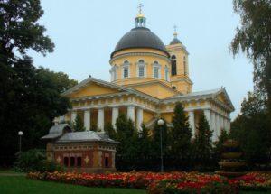 Кафедральный собор Петра и Павла в Гомеле