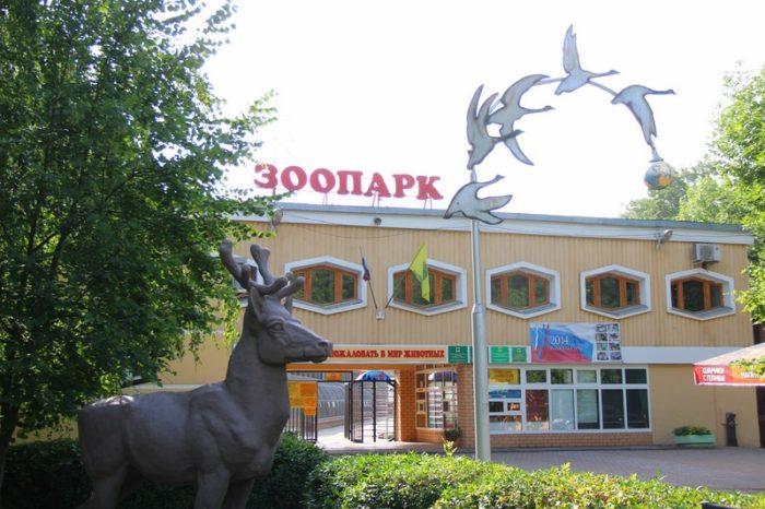 Липецкий зоопарк в Нижнем парке
