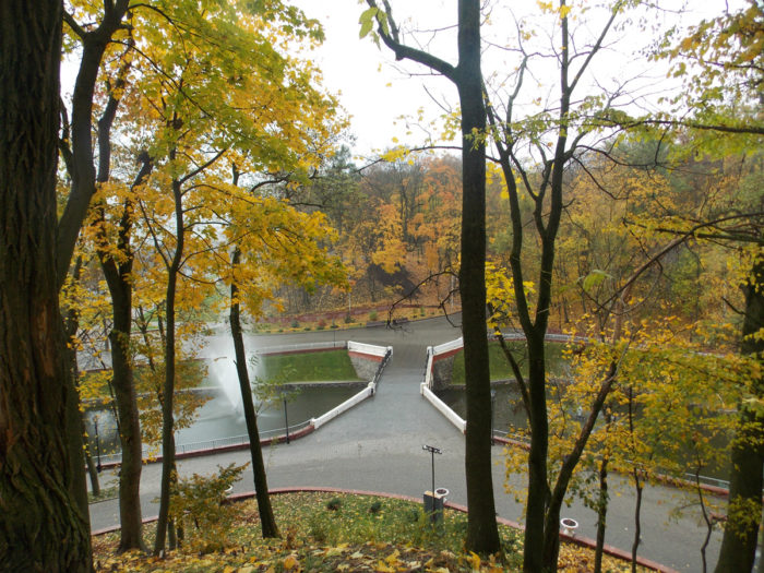 Парк Румянцевых и Паскевичей в Гомеле