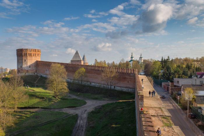 Смоленская крепость и башня Орел