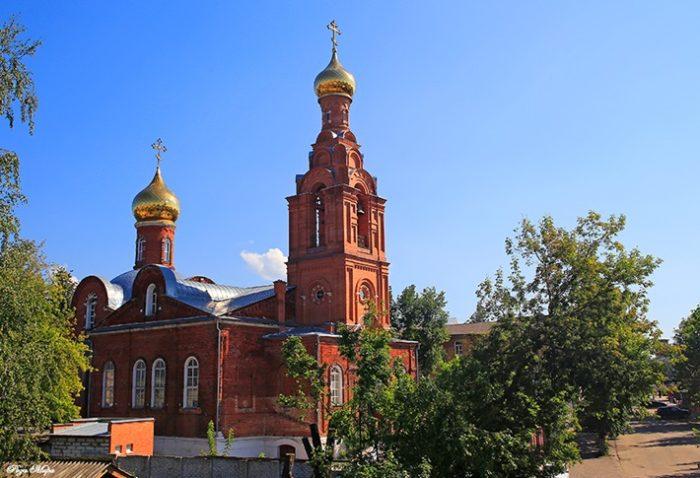 Церковь Феодоровской иконы Божией Матери в Коврове