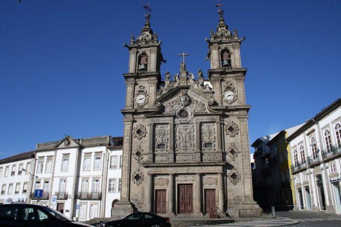 Церковь Санта-Круш в Браге