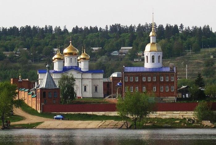 Храме Благовещения Пресвятой Богородицы.