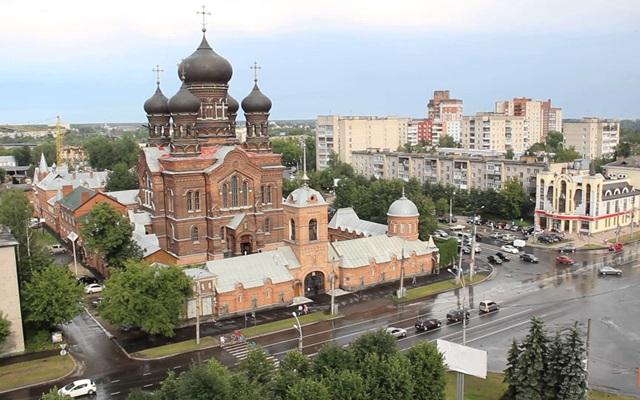Главные достопримечательности Иваново на карте, что посмотреть. Пешеходная экскурсия, маршрут по Иваново