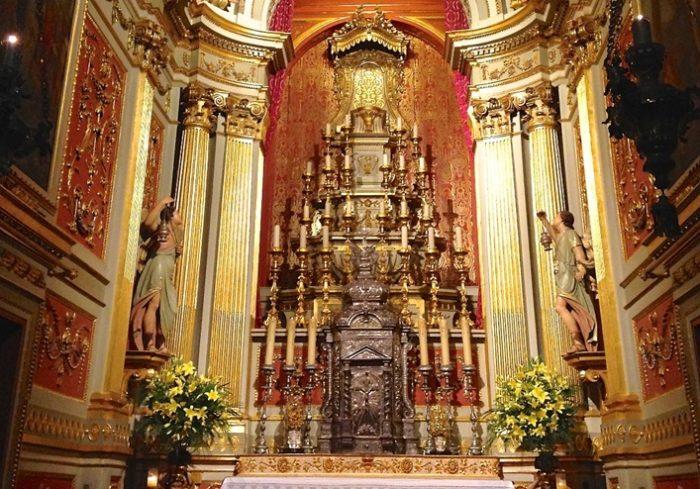 Кафедральный собор Браги (интерьер)