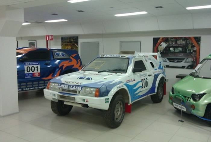 В музее «АвтоВАЗа» представлены и знакомые всем, и редкие модели – например, созданные для ралли