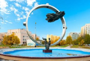 Памятник «Любовь» и Сквер Машиностроителей