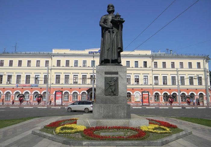 Памятник Ярославу Мудрому в Ярославле