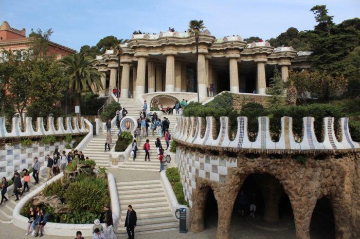 Парк Гуэля (Парадная лестница)