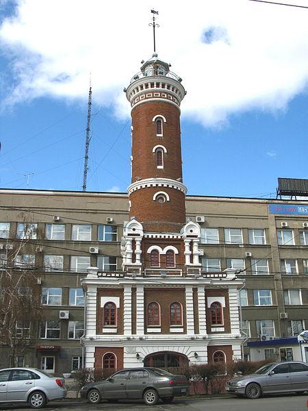 Пожарная каланча Омска