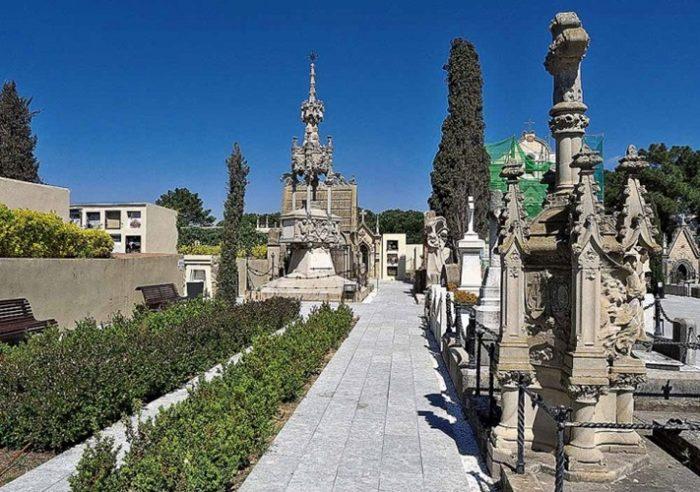 Скульптуры кладбища Льорет-де-Мар