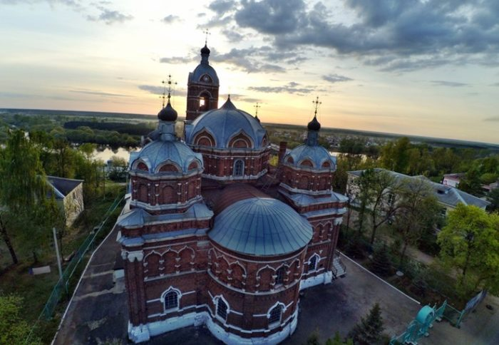 Автор проекта - владимирский архитектор Николай Артлебен