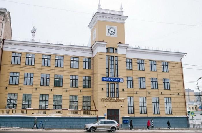 здание главного почтамта
