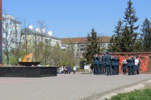 Аллея славы на площади Героев в Дзержинске