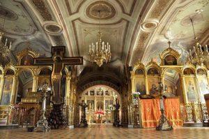 Интерьер Ильинского храма