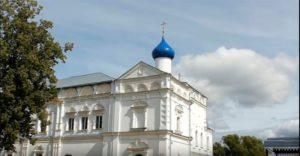 Интересная архитектура монастыря