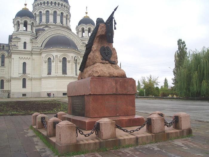 Памятник атаману Бакланову