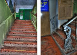 Старинная лестница в доме трудолюбия