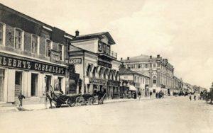 Улицы Ельца в ХIХ веке