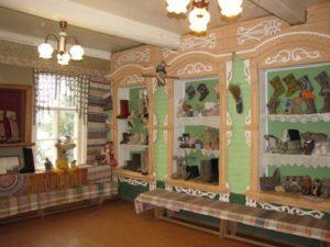 В музее валенок