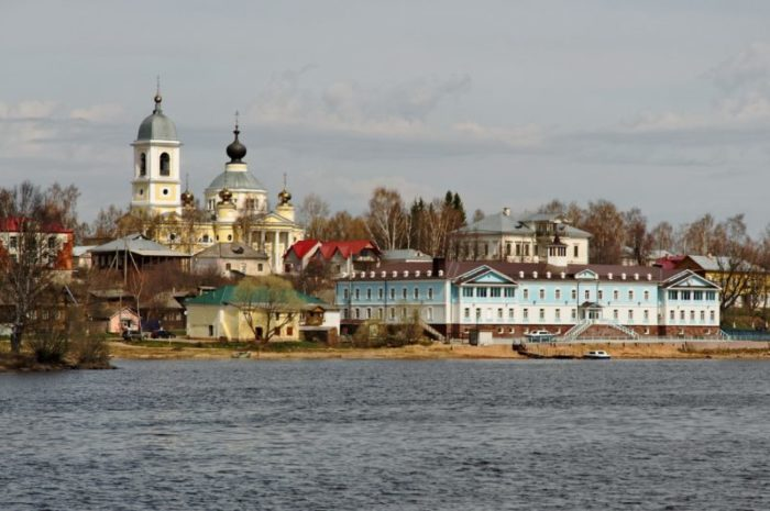 Вид на город Мышкин