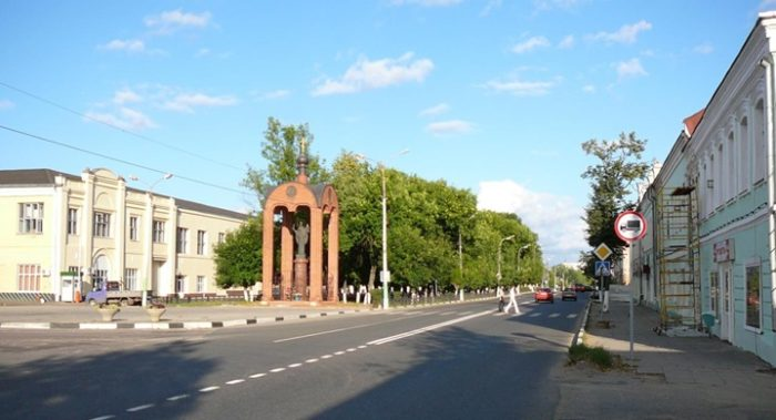 Улица Московская - центральная улица Можайска
