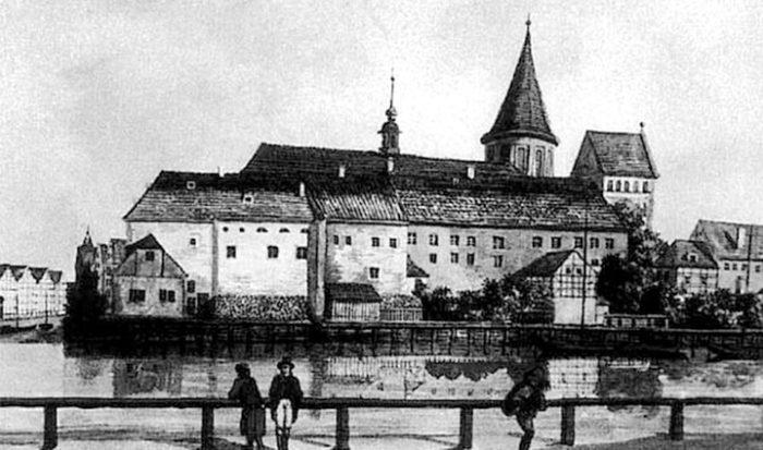 Кафедральный собор Кенигсберга в прошлом.