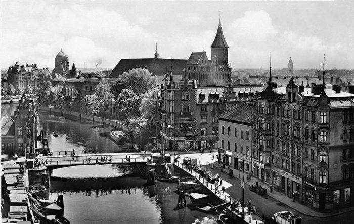 Кенигсберг в 19 веке.