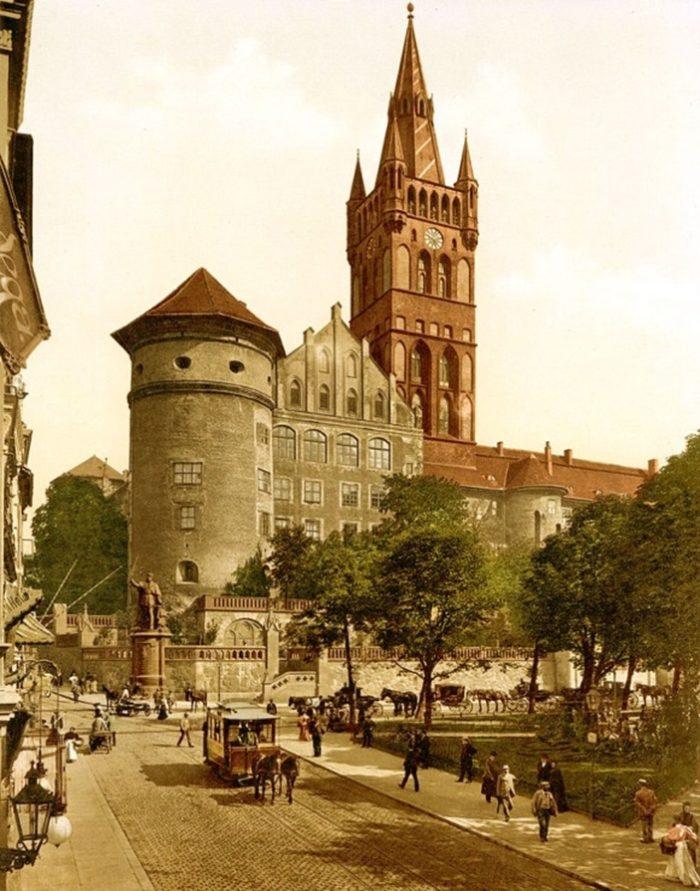 Королевский замок в начале 20 века.