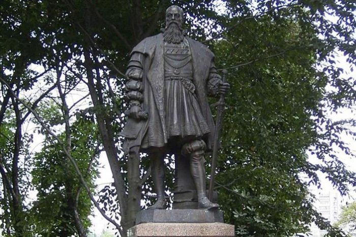 Магистр Тевтонского ордена Альбрехт Бранденбургский.