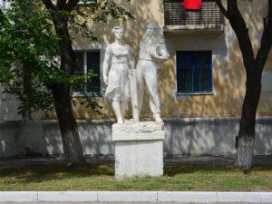 Скульптурная группа «Советские труженики»