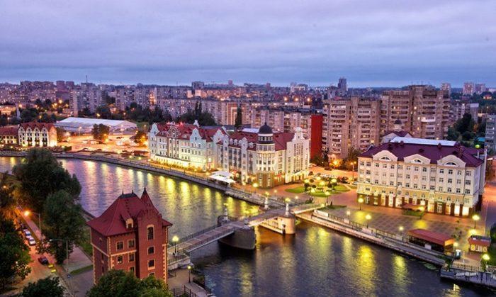 Современный Калининград соединяет историю и современность, европейское и российское начала.
