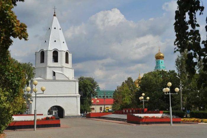 Башня старинного кремля – одна из главных достопримечательностей Сызрани.